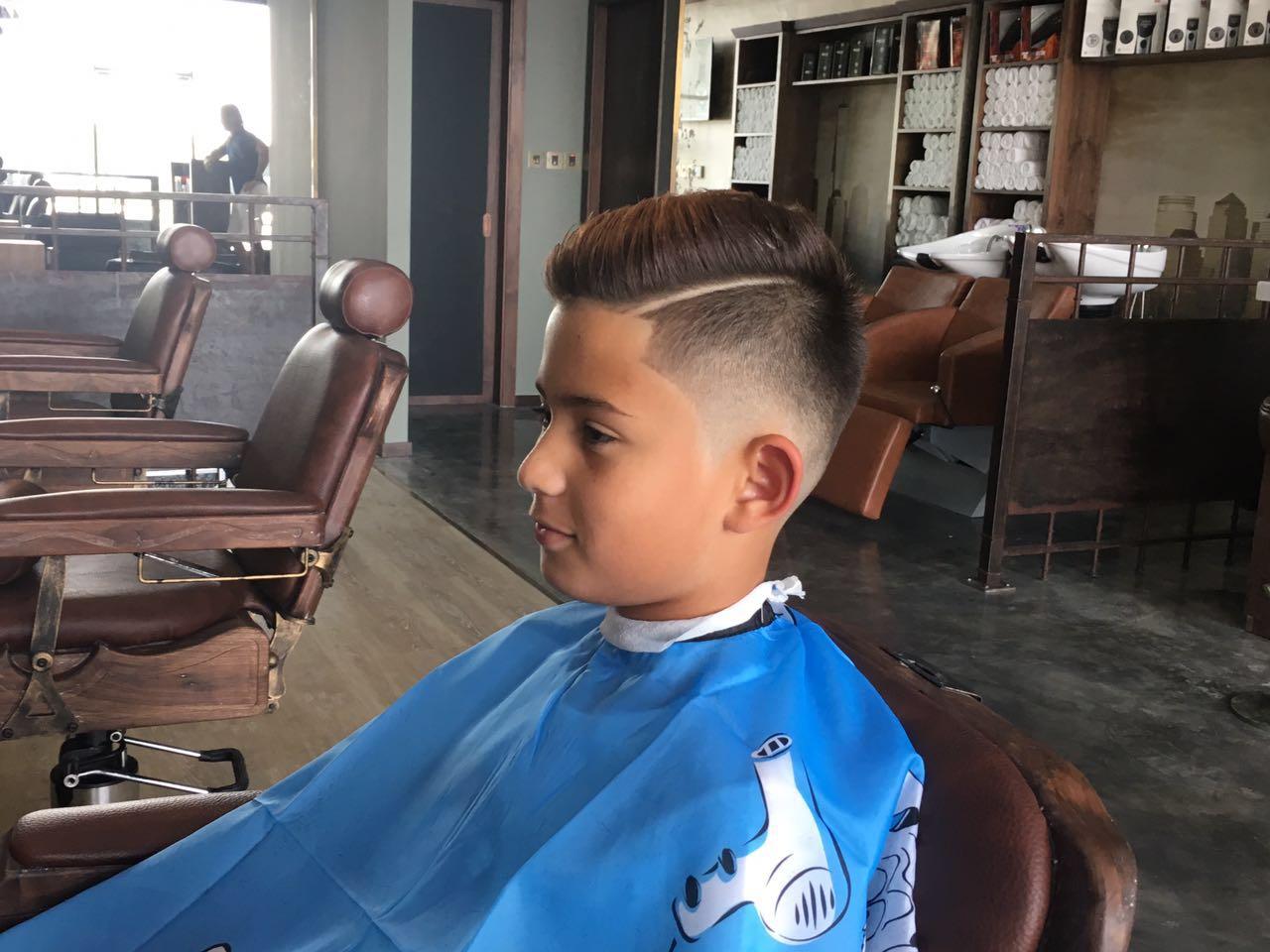 kids barber shop dubai marina