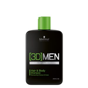 [3D]MEN Hair & Body Shampoo