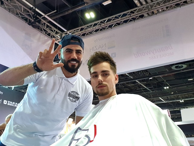 BARBER COMPETITION AT BEAUTY WORLD