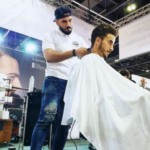 Dubai Best Barber competition at Beauty World