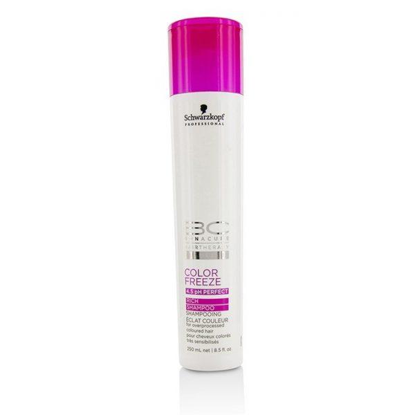 Schwarzkopf BC Color Freeze Shampoo (For Overprocessed Coloured Hair) 250ml barbershop dubai marina