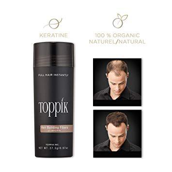 Toppik Hair Building Fibers gents salon dubai marina