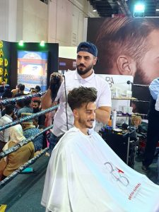 dubai hot towel shave