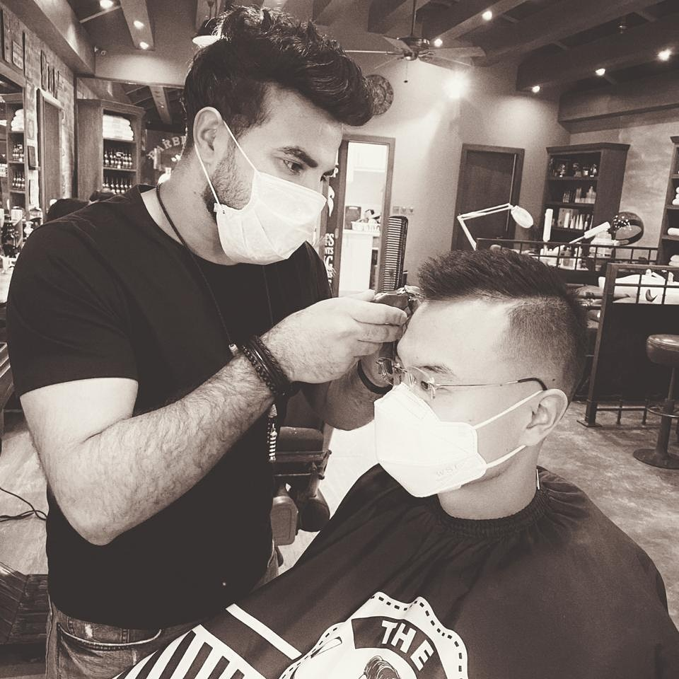 best rated barber shop in dubai marina barbers cut