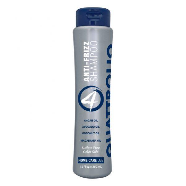 Quattrolio Anti-Frizz Shampoo 12oz Bottle